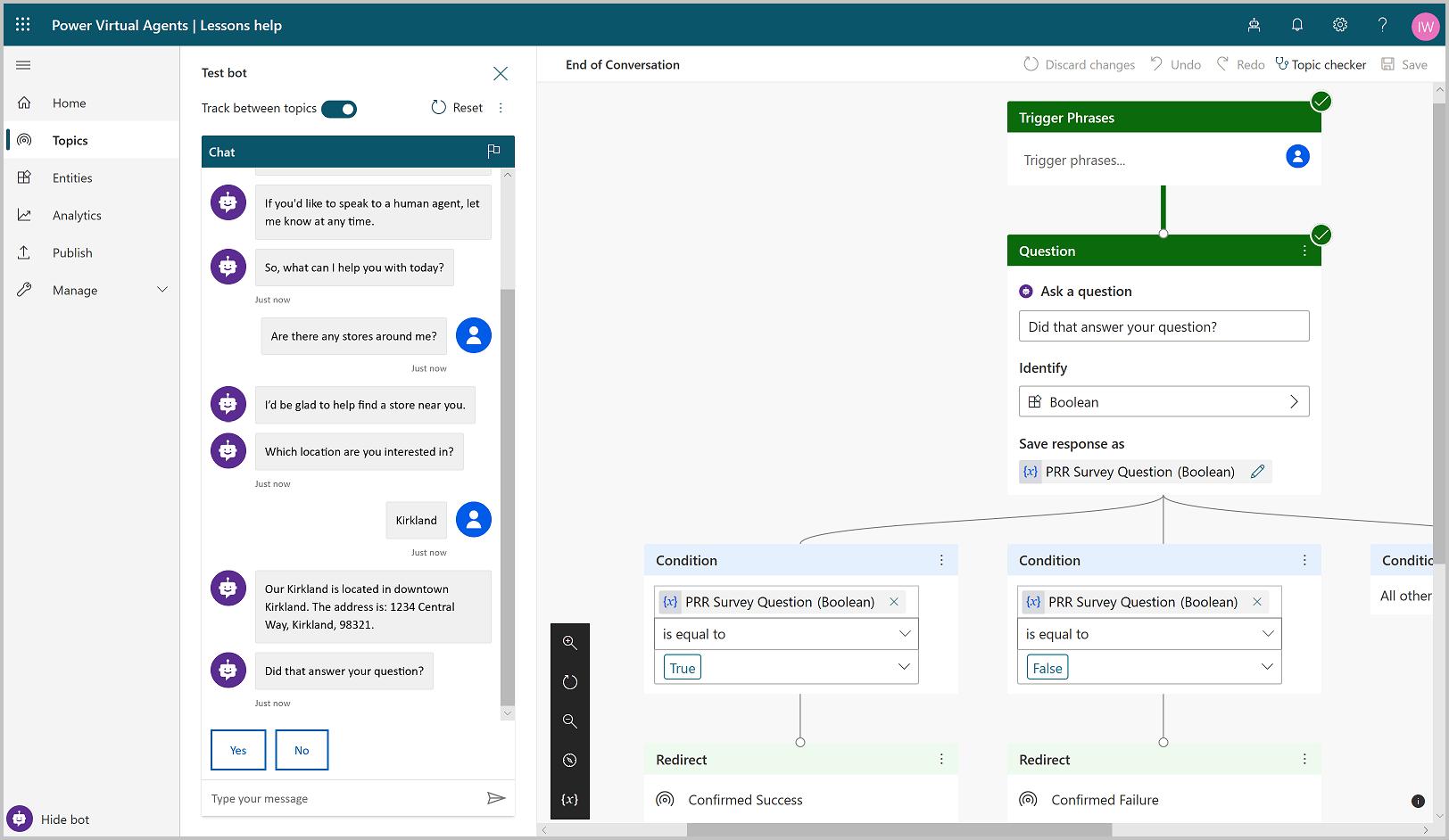 Microsoft Power Platform - agentes virtuais