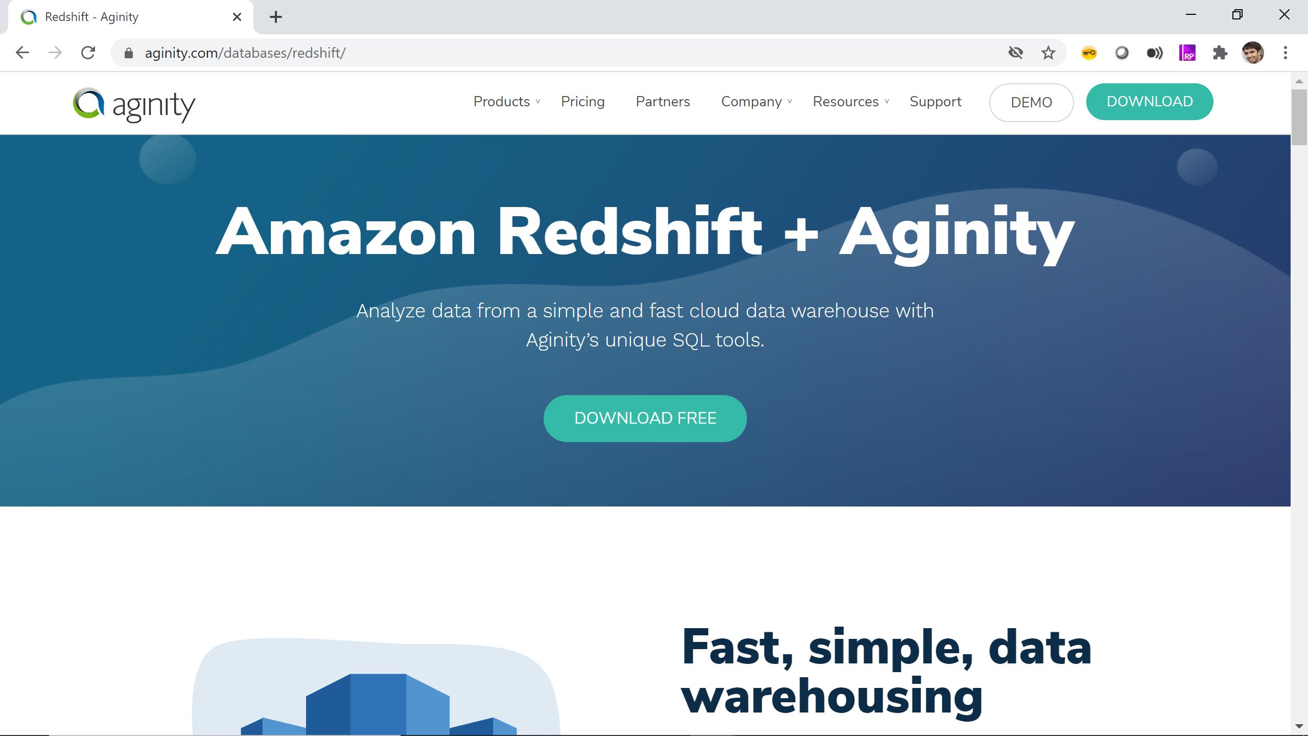 Aginity Pro para Redshift