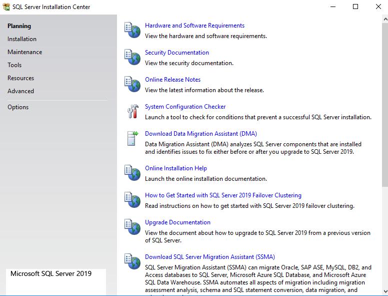 Install SQL server 2019 on SQLNode1