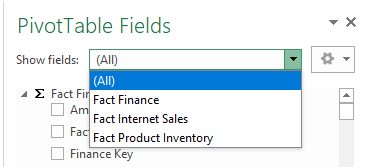Measure Group filtering can be done using Microsoft Excel