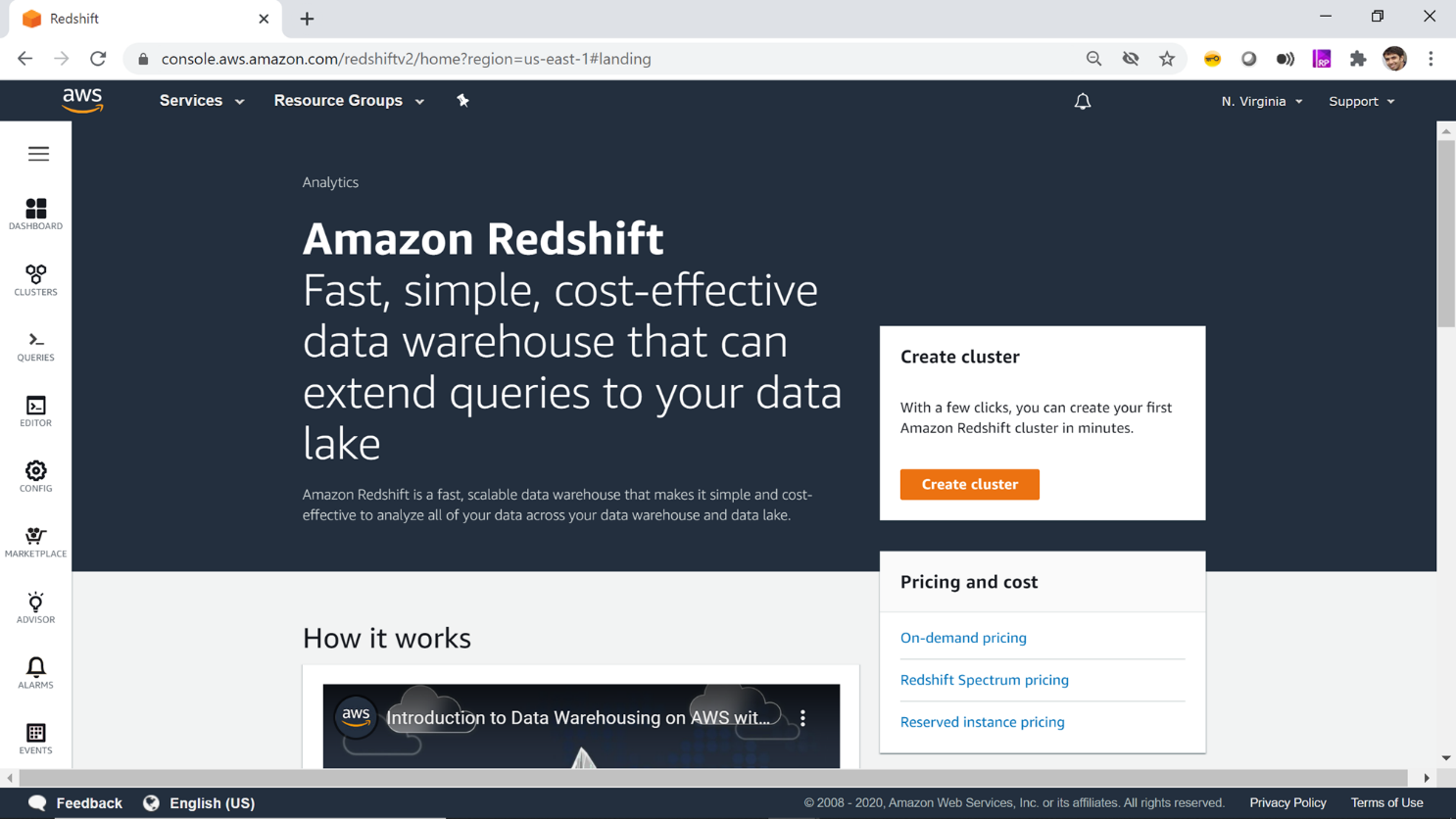Redshift Home Page