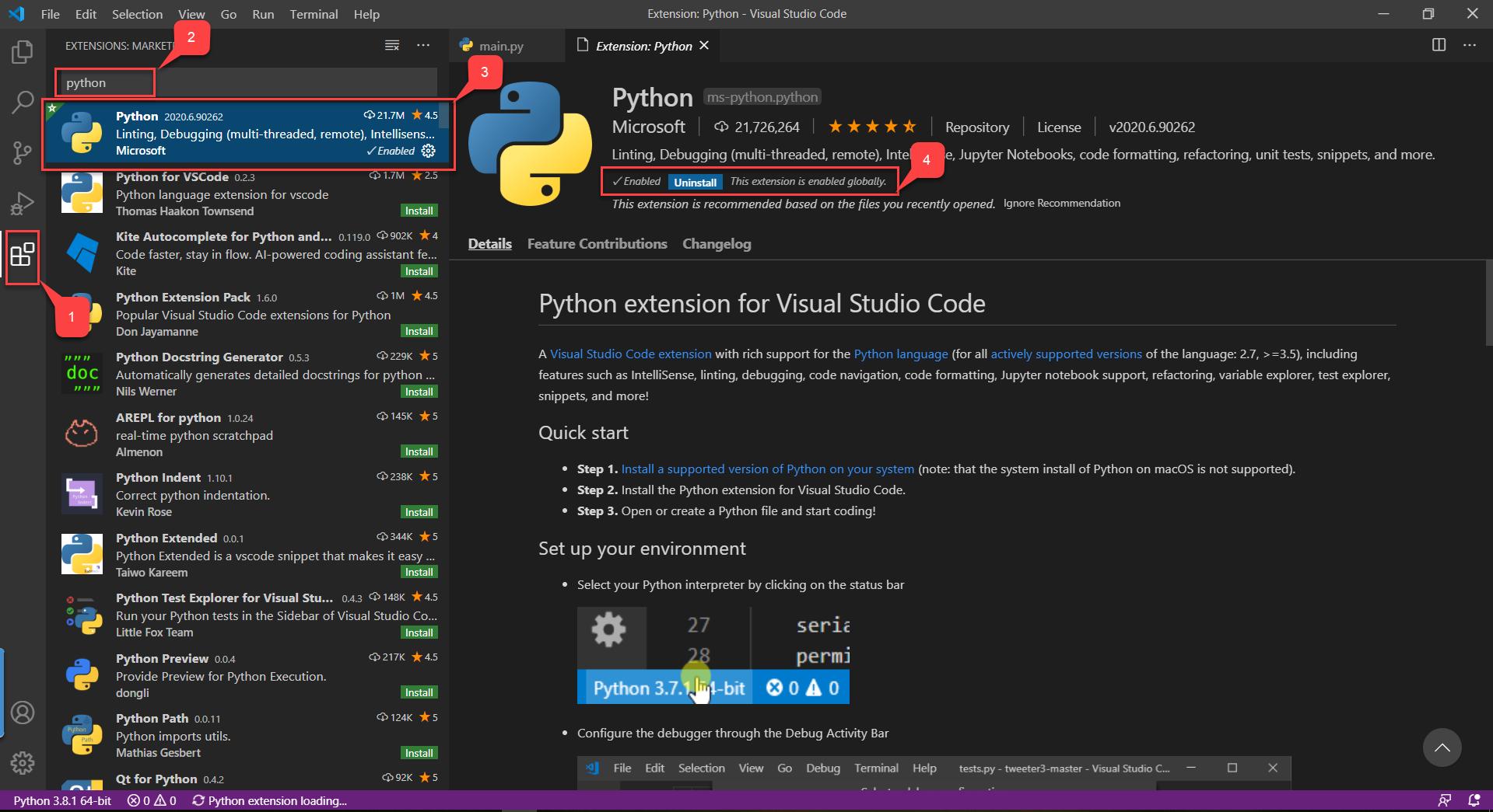 Setting Up Visual Studio Code For Python Development