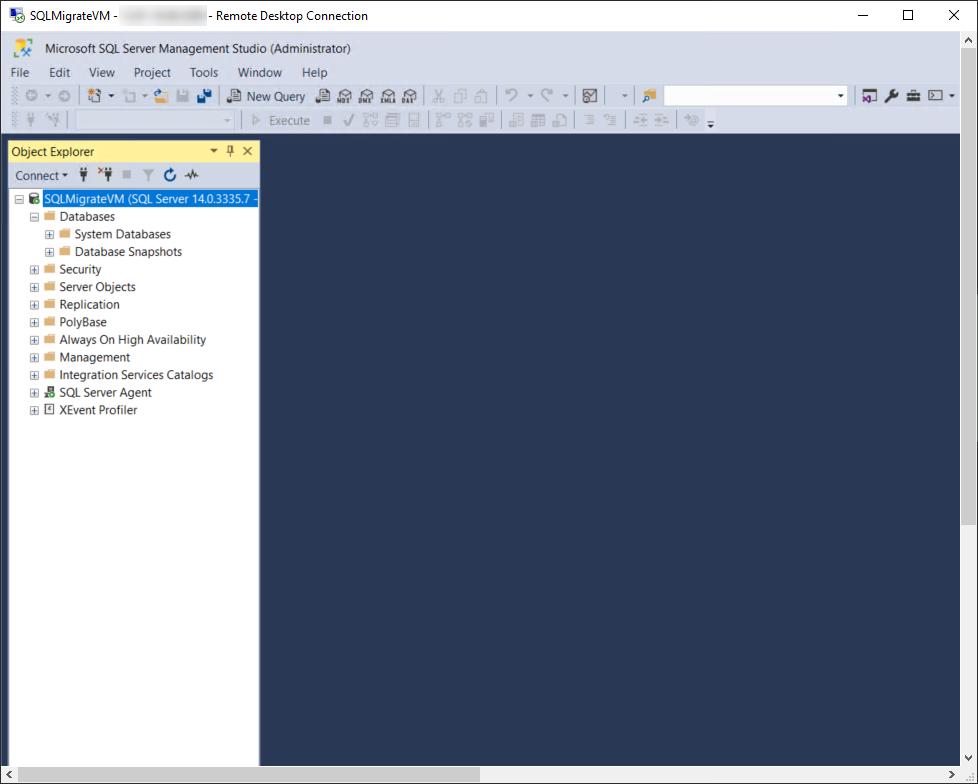 SQL Server on Azure VM