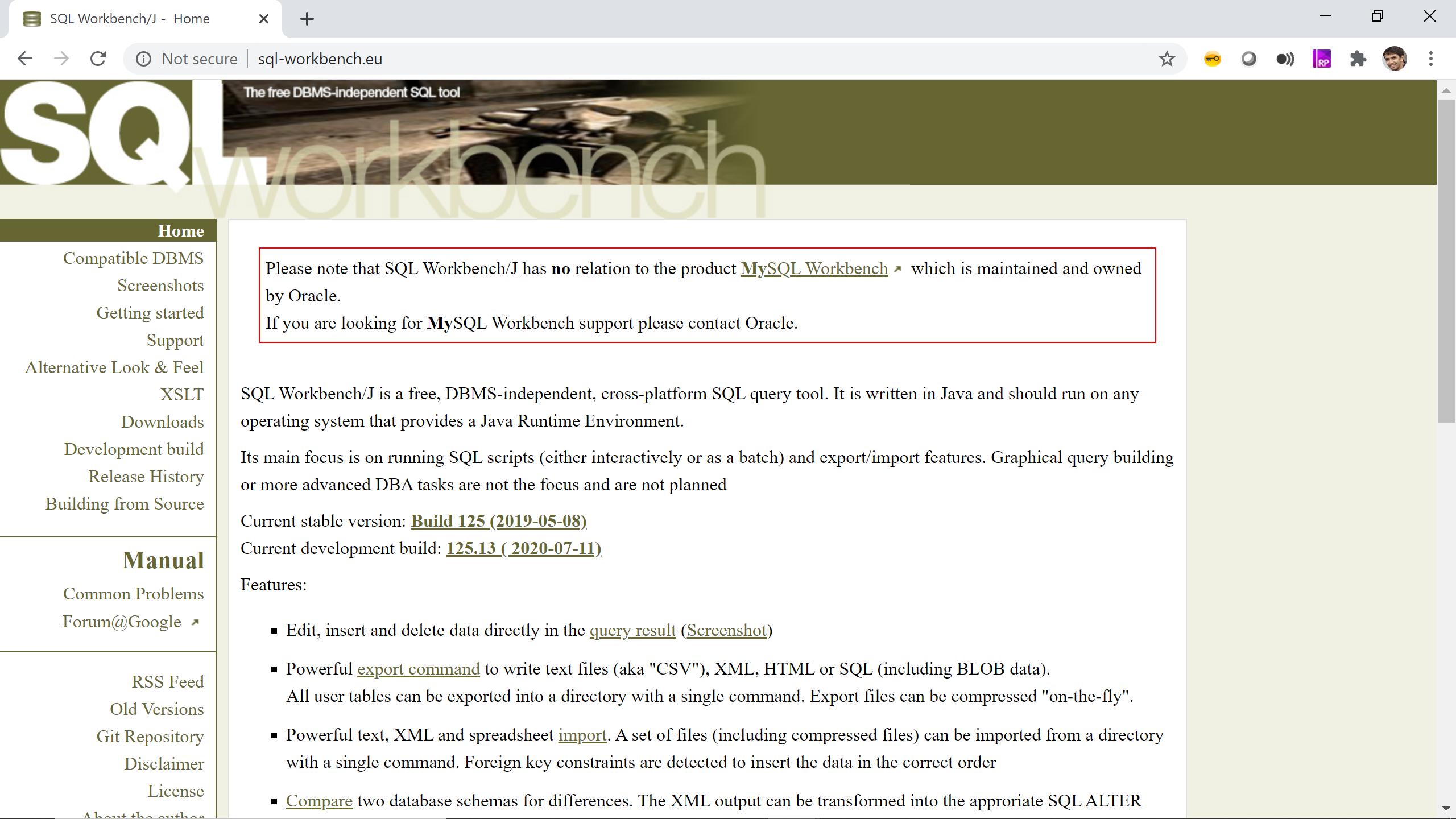 SQL Workbench para Redshift