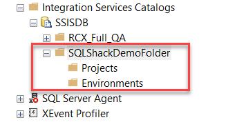 SSISDB Folder Structure