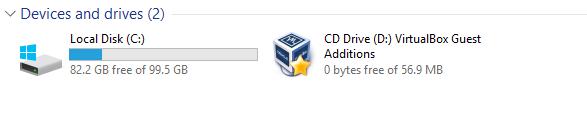 VirtualBox CD