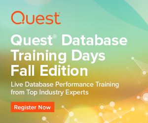 Database Training Days Fall Series