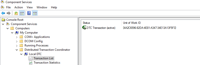 clustered DTC for SQL Server Always On Availability Group.