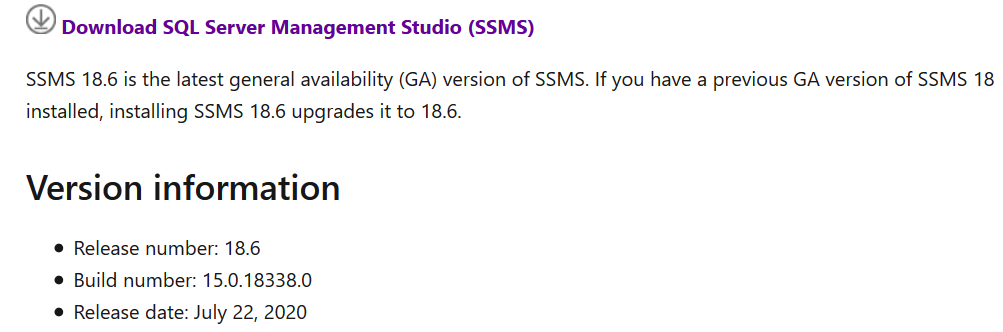 Download SSMS