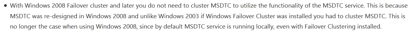 https://techcommunity.microsoft.com/t5/sql-server-support/msdtc-recommendations-on-sql-failover-cluster/ba-p/318037