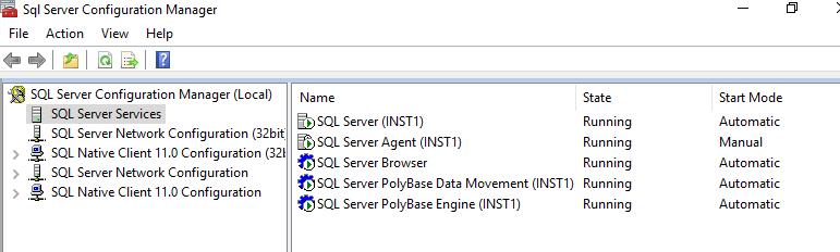 Restart SQL Services