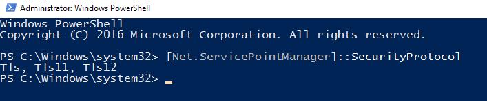 Restart Windows PowerShell