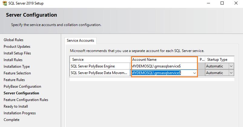 SQL Server SSB engine