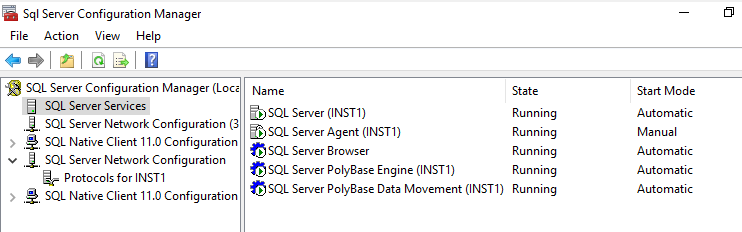 Starts the data movement service