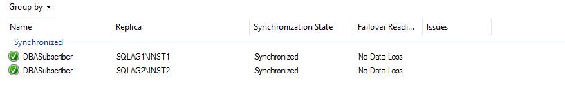 synchronization state