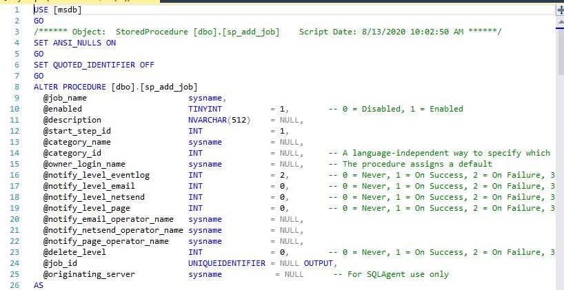 T-SQL Code