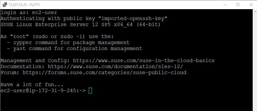 EC2 authentication