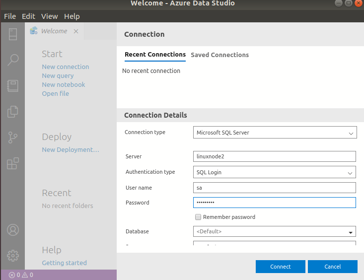 Install Azure Data Studio