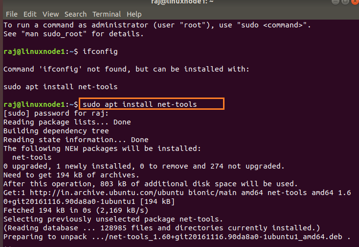 Linux VM's for static IP's