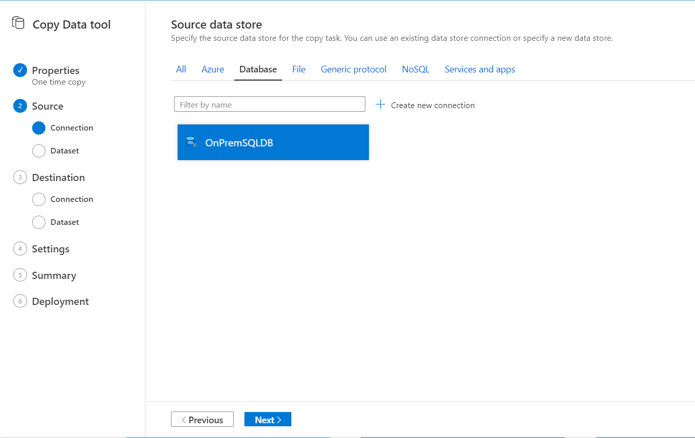 Source Data stores