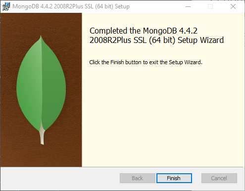 MongoDB installed successfully, frist step completed for MongoDB to SQL Server using SSIS