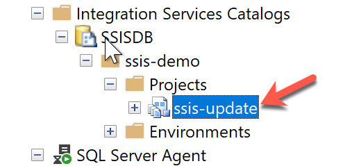 SSIS Package deployed in SSIS Catalog